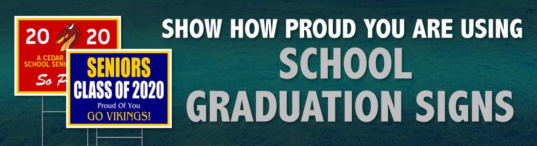 School Graduation Signs
