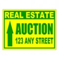 Auction Sign Templates