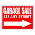Garage Sale Sign Templates