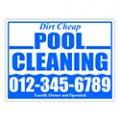 Pool Company Sign Templates