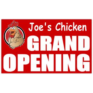 Chicken+Grand+Opening+Banner