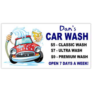 Car Wash Banner  Car Service Banner Templates Design - Custom car magnets cheap