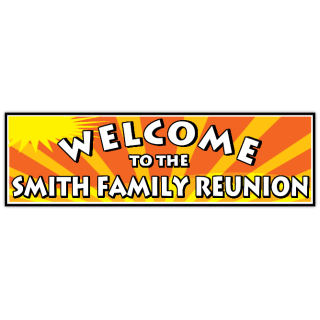 reunion banners design templates family reunion banner birthday banner anniversary