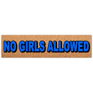 No+Girls+Street+Sign