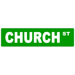 Church+Street+Sign