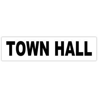 Town+Hall+Street+Sign