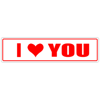 I+Love+You+Street+Sign