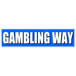 Gambling+Way+Street+Sign