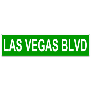 Las+Vegas+Blvd+Street+Sign