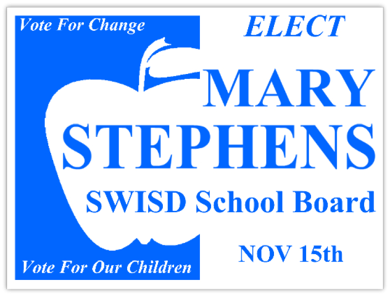 school board sign election signs campaign sign