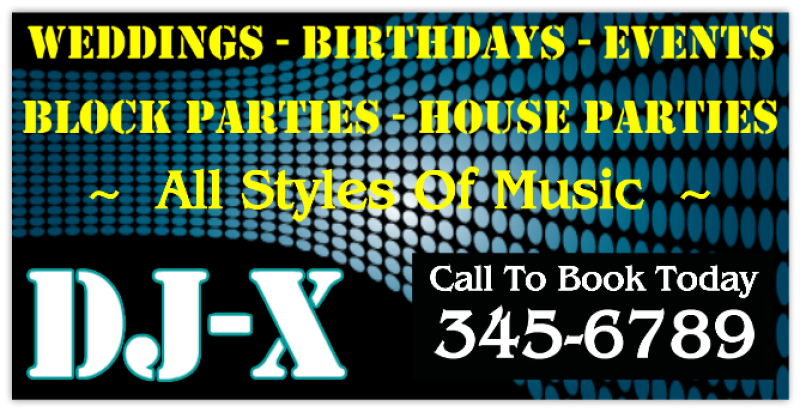 Dj Banner Music Banners Club Banners