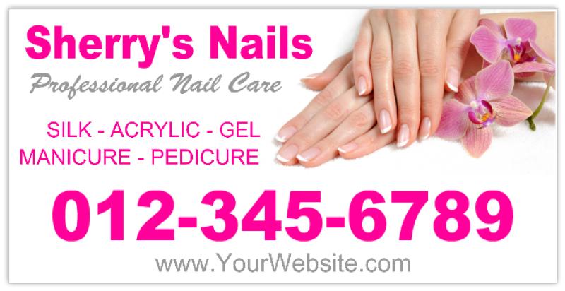Nail Salon Banner 102