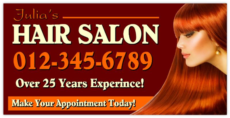 Hair Salon Banner 102 Hair Salon Banner Nail Spa Signs Tanning Salon Banners