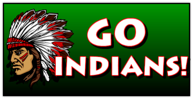 Go Indians Banner Template Custom Banner Team Banner