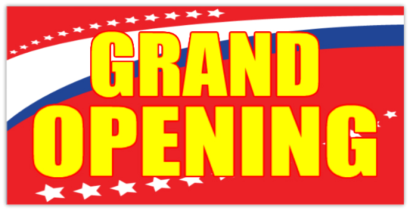 Grand Opening Banner 108 Grand Opening Banner Templates