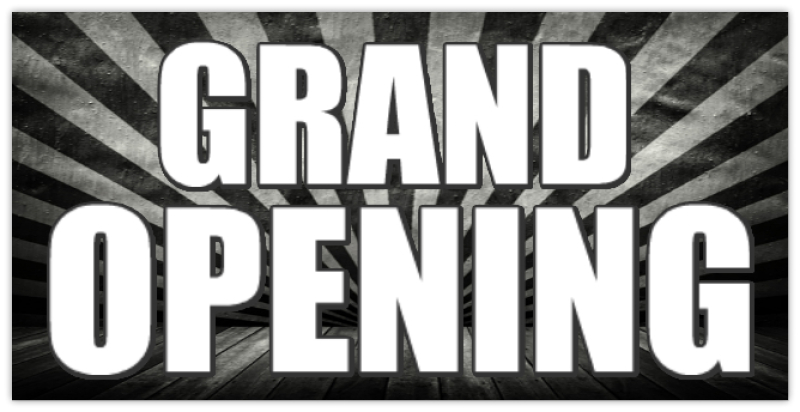 Grand Opening Banner 115 Grand Opening Banner Templates
