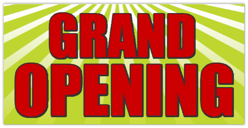 Grand Opening Banner 116 Grand Opening Banner Templates