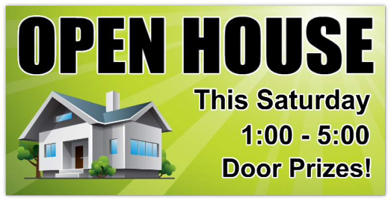 Open House Banner 113 Real Estate Banner Realtor