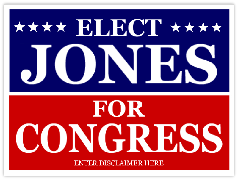 Congress Campaign Signs
