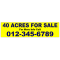 Acres For Sale Banner