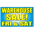 Warehouse Sale Banner