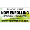 Now Enrolling Banner