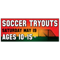 Soccer Tryouts Banner