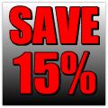 Save 15% Banner