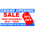 Grand Opening Banner 104