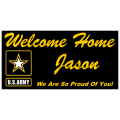 Welcome Home Banner U.S. Army