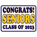 Congrats Seniors Sign 101