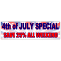 4th of July Special Banner