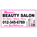 Beauty Salon Banner 101
