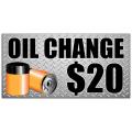 Oil Change Baner 102