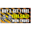 Tire Sale Banner 103