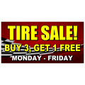 Tire Sale Banner 104