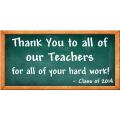 Thank You Teacher Banner