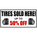 Tire Shop Banner 102