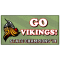 Vikings Champs Banner