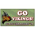 Vikings Champs Banner