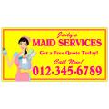 Maid Service Banner 101