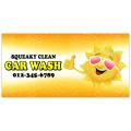Car Wash Banner 102