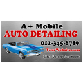 Auto Detailing Banner 101