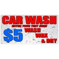 Car Wash Banner 106