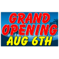 Grand Opening Banner 117