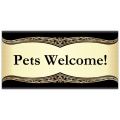 Pets Welcome Banner 104
