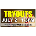 Baseball Tryouts Banner 01