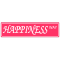 Happiness Way Street Sign