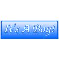 It's A Boy Banner 2
