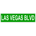 Las Vegas Blvd Street Sign